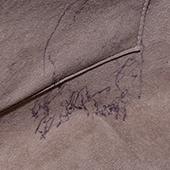 內部口袋有原子筆行跡