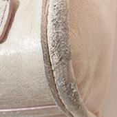皮革角位磨損